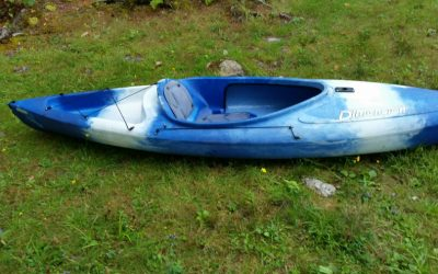 Lost Kayak and Kneeboard- Norton Pond