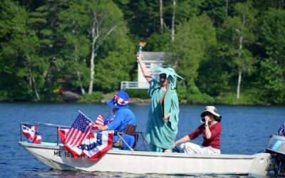4th of July Boat Parade- Norton Pond 4:00 PM